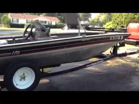 2002 Bass Tracker Boat Value by 2000 Bass Tracker Pro Crappie 175 With 75 Hp Mercury Ou