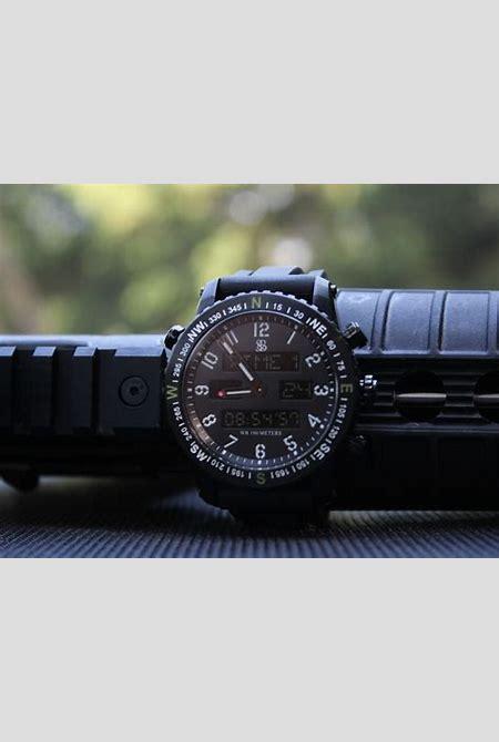 The Ambush Digital Analog Watch by Smith & Bradley - Best Kickstarter Watches - AskMen