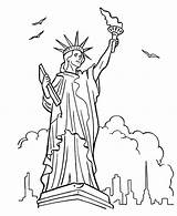 Liberty Statue Coloring Pages Drawing Forces Armed Bluebonkers Sheet York Colornimbus Printable Colouring Paintingvalley Head Template Statues Drawings Sketch Avengers sketch template