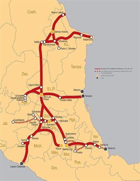 kansas city southern railroad map – bnhspine.com