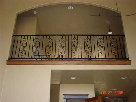 inside balcony railing