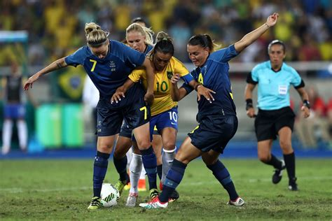 Never has the nation won a medal in football with both mens and womens sides never going further than the… Brazil vs. Sweden 2016: Final score 0-0, Swedes win on ...