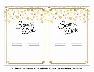 7 best images of diy save the date template halloween party invitation templates printable for Free printable save the date templates