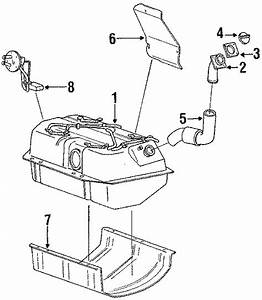Mitsubishi Montero Fuel Tank Sending Unit  Level  Cylinder