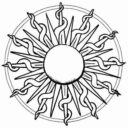 Coloring Pages Teenage Colouring Printable Sun Popular