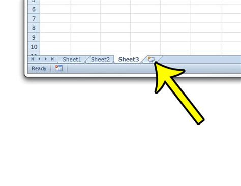 how to insert a new worksheet in excel 2010 live2tech