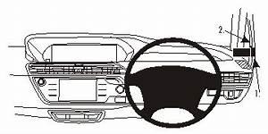 604931 brodit proclip proclip right mount for citroen c4 With citroen grand c4 pico interior