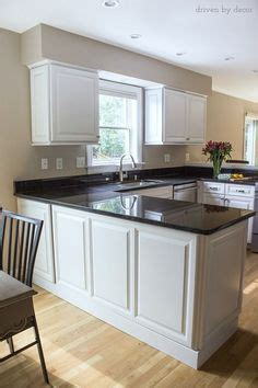 cabinet for kitchen sink how to make a mitered edge so counter top looks thick 5059