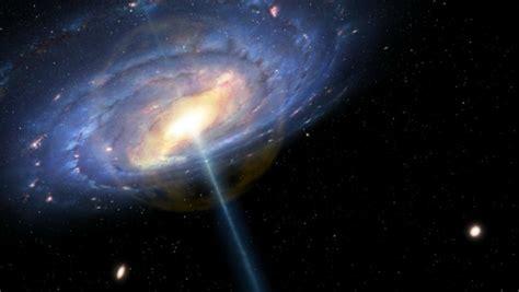 Quasar Milky Way Six Million Years Ago Space Earthsky