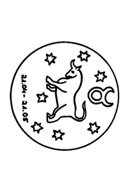 stier sternzeichen sternzeichen stier ausmalbild malvorlage sternzeichen