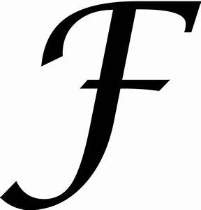 letter f monogram initials and google drive on pinterest With letter f monogram