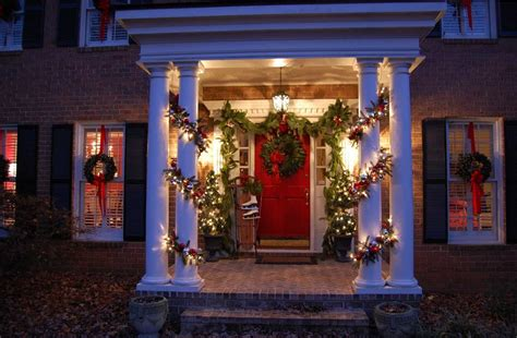 front house christmas decorations christmas decorating ideas for your porch