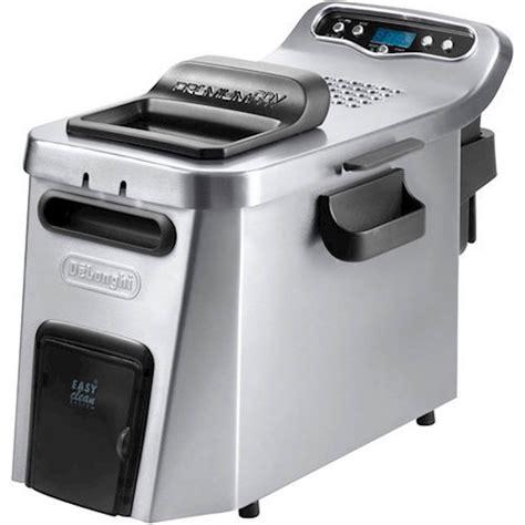 fryer delonghi deep dual stainless zone steel digital air fry fat clean fryers volt coolzone oil premium kitchen bowl electric