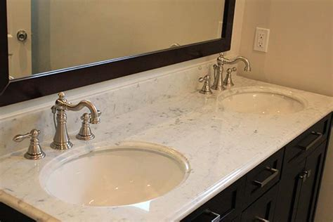 Marble Bathroom Countertops   Liberty Home Solutions, LLC