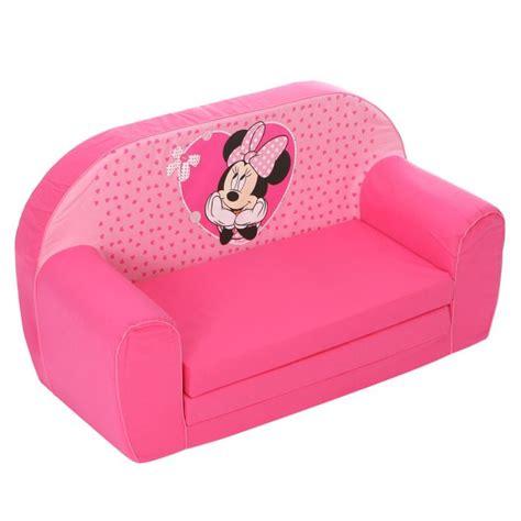 canapé bébé minnie canapé mousse sofa disney baby achat