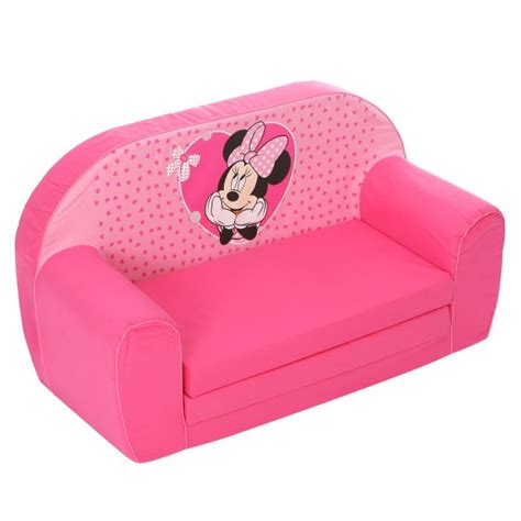 canape bebe minnie canapé mousse sofa disney baby achat