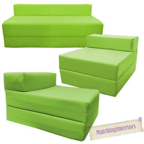 canapé pliable canapé chauffeuse pliable citron vert studio etudiante