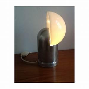 Lampe Italienne Pipistrello : lampe vintage italienne avec globe perspex blanc 1970 design market ~ Farleysfitness.com Idées de Décoration