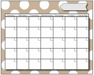preschool calendars print blank calendars With preschool calendar template printables