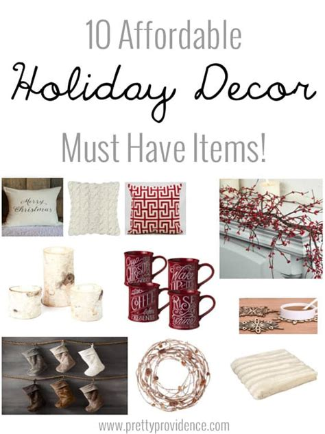 Affordable Holidays by 10 Affordable Decor Must Items Pretty