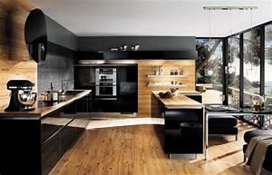 un amenagement de cuisine reussi mobilier moderne With amenagement de cuisine moderne