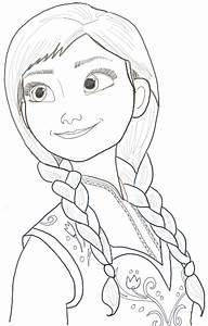 How to Draw Princess Anna from Frozen Step by Step ...