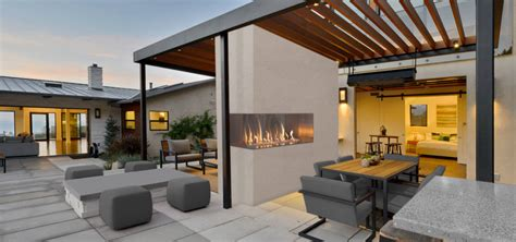 series corner style outdoor gas fireplace european home