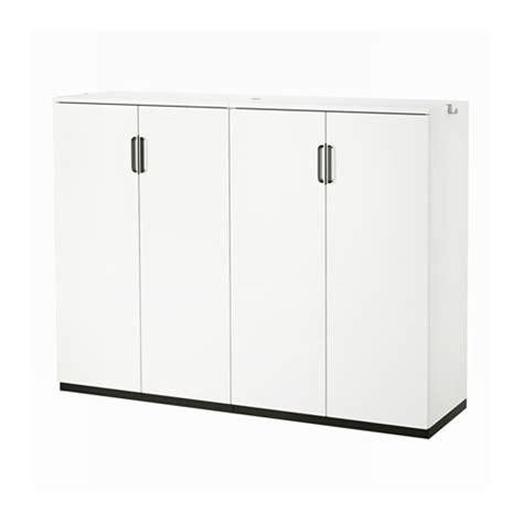 Lade Per Scrivanie by Galant Mobile Con Ante Bianco Ikea