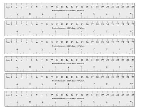 printable cminch ruler printable ruler printable