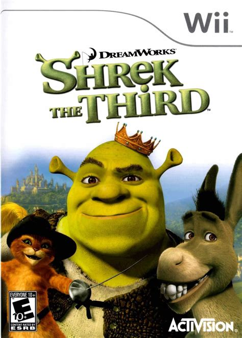 Shrek The Third Wii Review Any Game