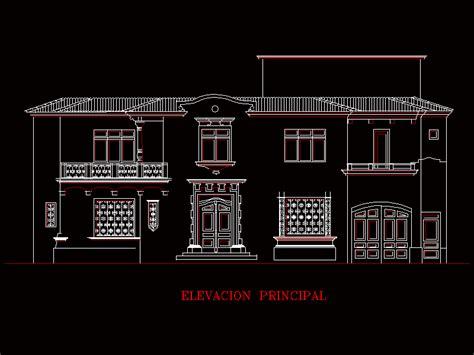 classic facade dwg block  autocad designs cad