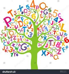 Clip Art Letters and Numbers