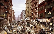 Manhattan's Little Italy on the Lower East Side, 1900 ...