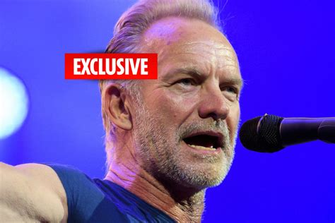 How to use sting in a sentence. Sting, 67, 'recovering at Italian mansion' after axing ...
