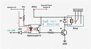 Control High Voltage Devices Arduino Relay Tutorial