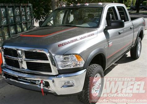 dodge ram power wagon breaks cover pickuptruckscom