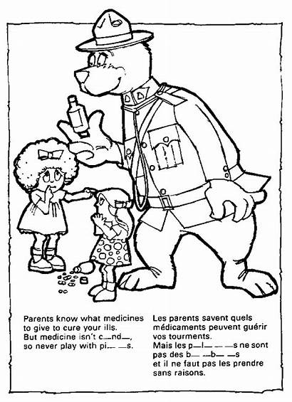 Coloring Crime Pages Mcgruff Dog Prevention Popular