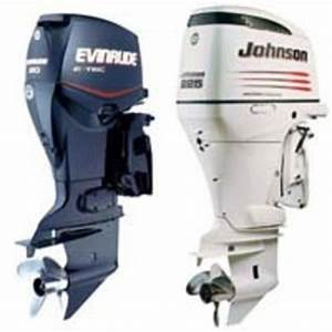 Johnson Evinrude 50 Hp Outboard 1971
