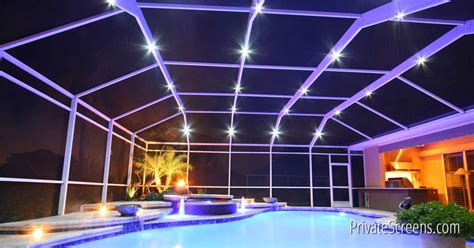 pool enclosure lighting what is pool enclosure lighting
