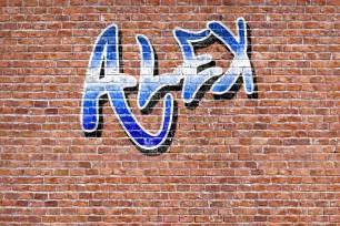 Orange Grey And Turquoise Living Room by Custom Name Graffiti Wallpaper Mural Muralswallpaper Co Uk