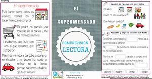 Lectura comprensiva de textos cortos El supermercado Aula PT