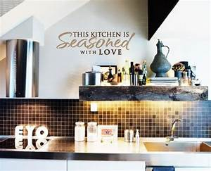 110 best witty kitchen quotes images on pinterest With best brand of paint for kitchen cabinets with removable wall art quotes