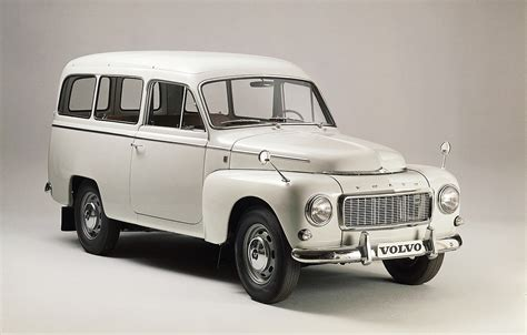 60 years ago: Volvo launches the Duett, its first station ...
