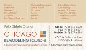Chicago remodeling business card edje blogs for Remodeling business card ideas