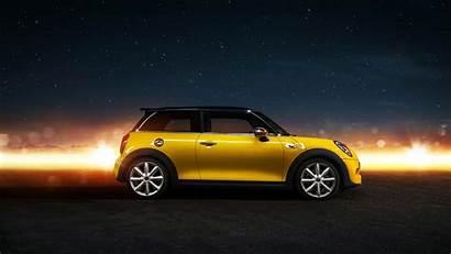 Cooper Mini Yellow 4k Cars Side Sport