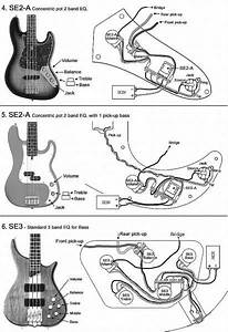 Bass Pickup Wiring Diagrams With Images Bass Guitar Pickups