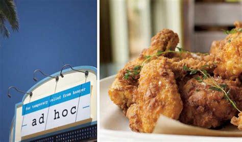 ad hoc cuisine the 20 best restaurants in napa valley napavalley com