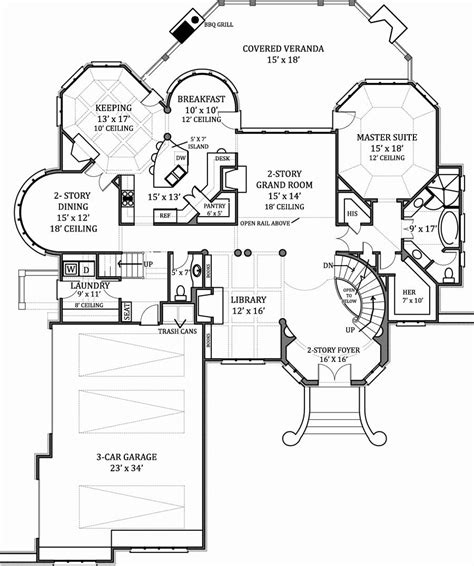 house with floor plan hennessey house 7805 4 bedrooms and 4 baths the house