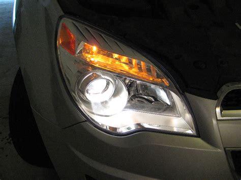 chevrolet equinox headlight bulb replacement