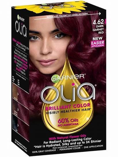 Hair Olia Garnier Dark Garnet Ammonia Deep